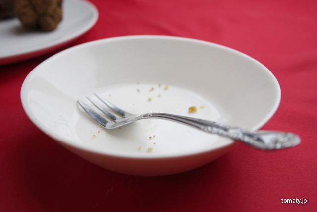 食べ終わったお皿
