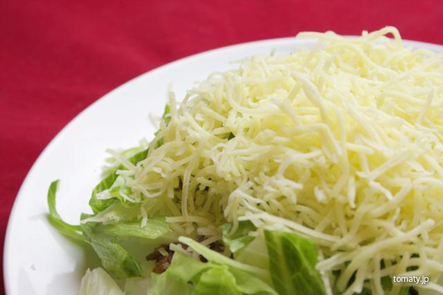 細切りチーズ