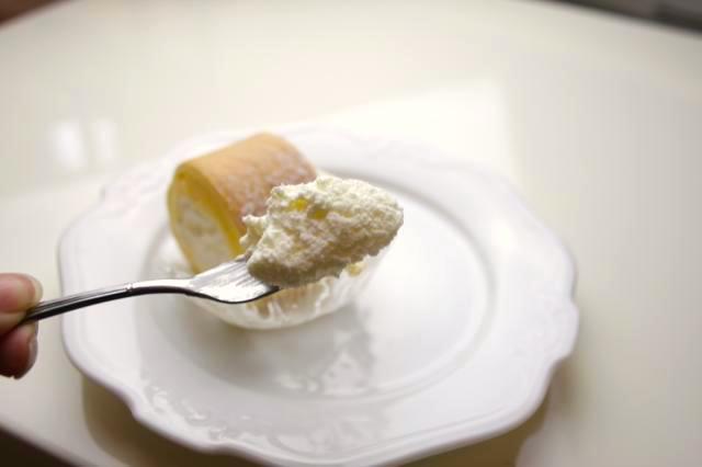 ふわふわのクリーム