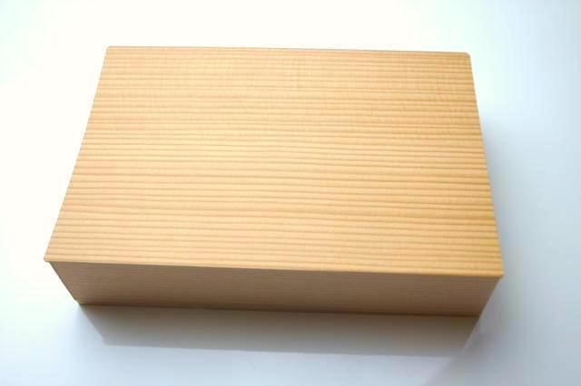 木目模様の箱