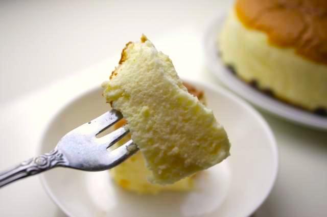 ふわふわのチーズケーキ
