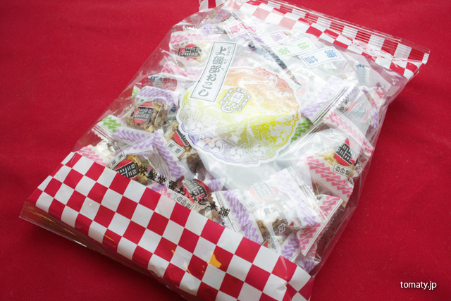 東京浅草 雷おこしの袋