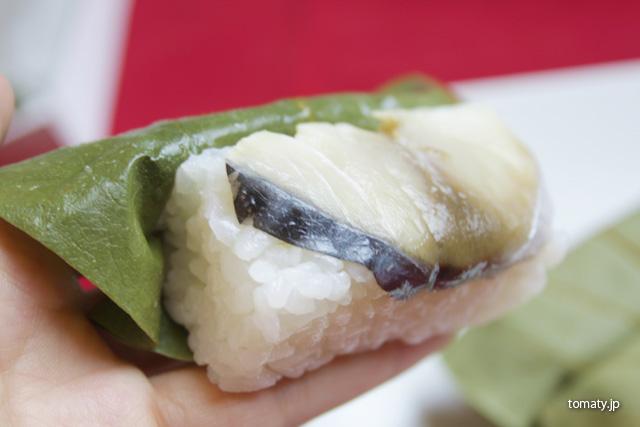 たなかの柿の葉寿司
