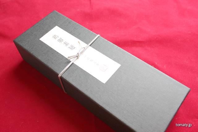 松屋菓子舗の鶏卵素麺の箱