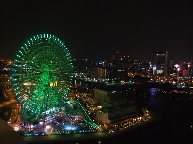 神奈川県の夜景