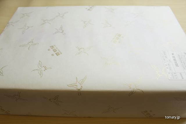 豊島屋の鳩サブレーの包装紙