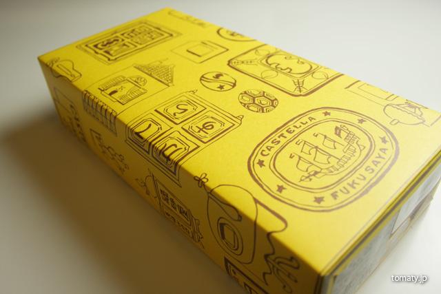 福砂屋のカステラの箱