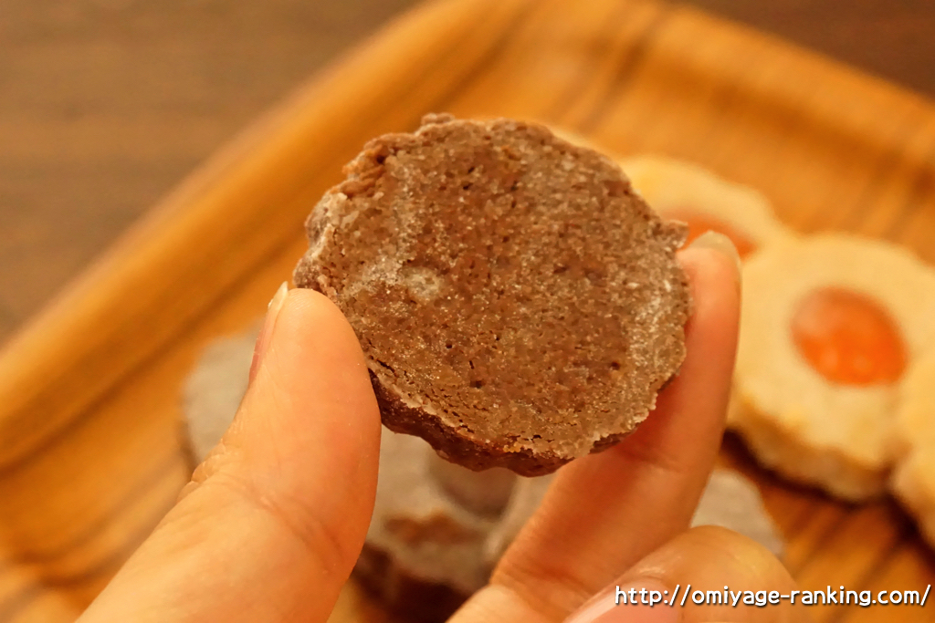兵庫県西宮市夙川_ミッシェルバッハ_夙川クッキーローゼ_チョコレートクッキーの裏