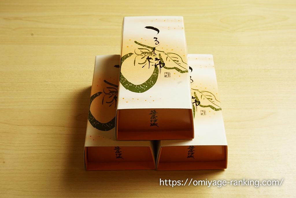 京都の美味しいお土産_笹屋伊織_つるし柿